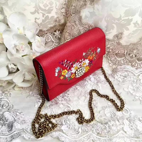 2019 frauen Leder Messenger Bags Litschi Muster Telefon Geldbörse Casual Schulter Messenger farbe Tasche Für Frauen Neue Mode