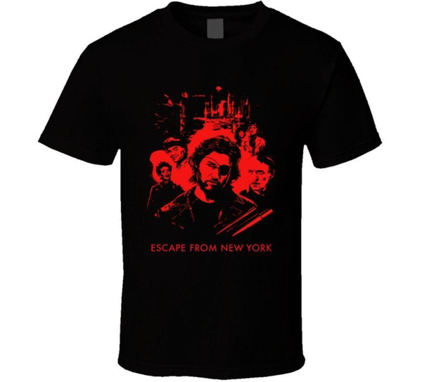 Escape From New York Carpenter Russell 80s Movie Fan Men T-Shirt Lowest Price 100 % Cotton