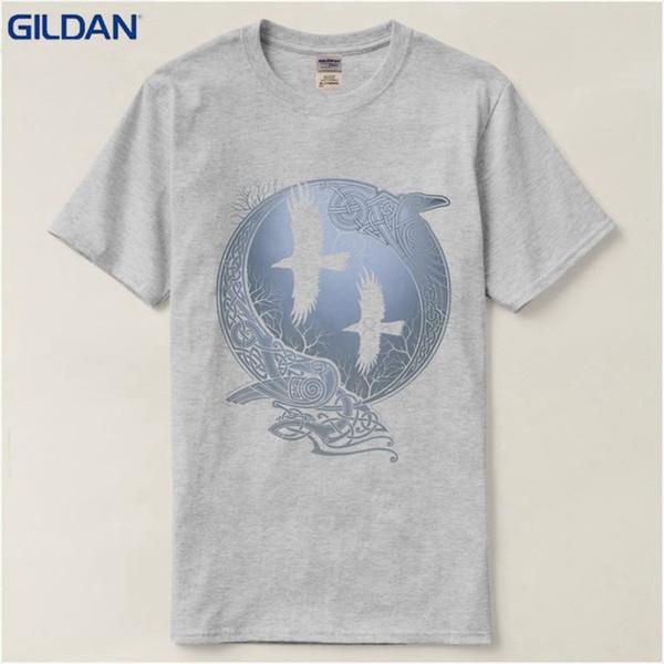 c8a21ad4 2019 Womens Luxury Designer T Shirts T Shirt Summer Vikings TV Series Odin  S Raven Ragnar Lodbrok White Summer Sportwear Casual T Shirt T Shirt Every  ...