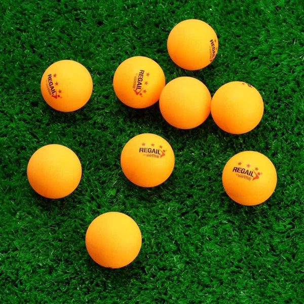 Pro 50Pcs 3-Star 40mm Table Tennis Balls Advanced Sports Training Celluloid Ping Pong Balls for CompetitionTraining