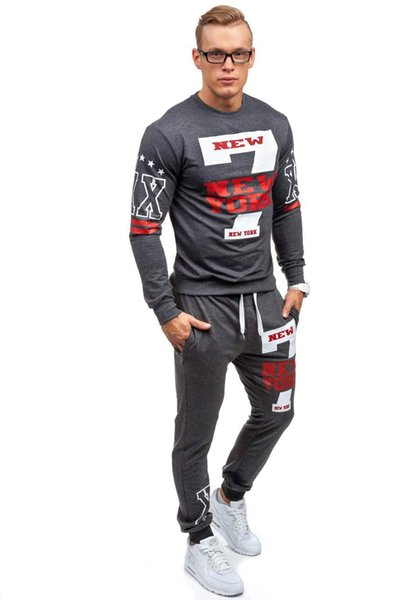Men's Designer Tracksuits Sport Hoodies Pants Suits With Letters Printed Long Sleeve Men Sweat suits Sportwear Clothing Hiking S-2XL
