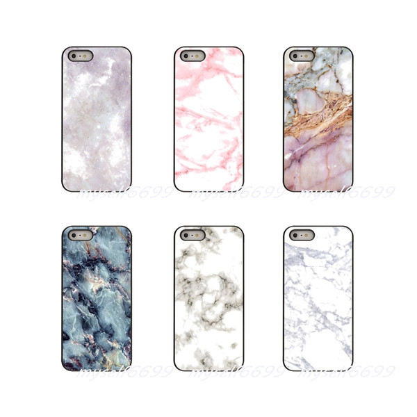 Marble Hard Phone Case Cover For Apple iPhone X XR XS MAX 4 4S 5 5S 5C SE 6 6S 7 8 Plus ipod touch 4 5 6