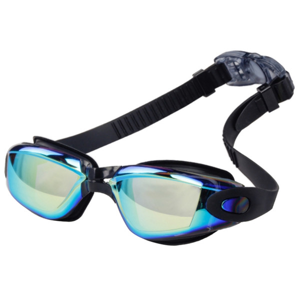 Swim Goggle Women Men High Definition Electroplated Lens Waterproof Anti-fog Glass Adult Eyewear Sportswear Accessories