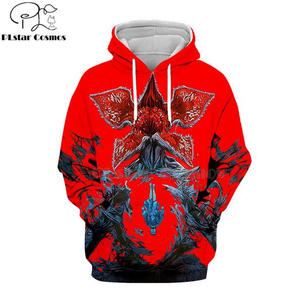 PLstar Cosmos 2019 garip şeyler 3d Hoodies Kapşonlu Sweatshirt gömlek Sonbahar Kış uzun kollu Harajuku Hip Hop streetwear-14