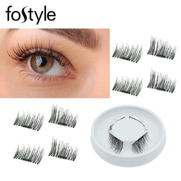 False Lashes Makeup Natural Eyelash Extension Supplies Magnetic Eyelashes Magnetic Lashes Fake Eyelashes Individual Tools