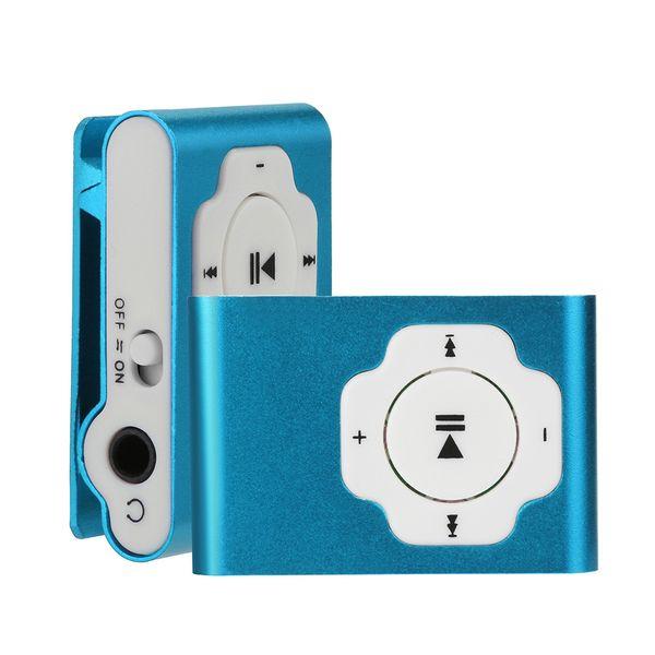 SZAICHGSI 10PCS/LOT Mini Portable USB MP3 Player Support Micro SD TF Card 32GB Sport Music Media