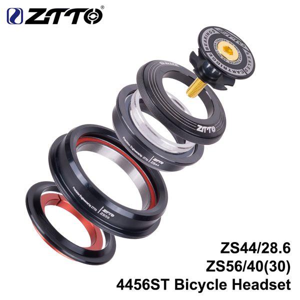 ZTTO 4456ST MTB Bisiklet Yol Bisiklet Kulaklık 44mm 56mm CNC 1 1/8