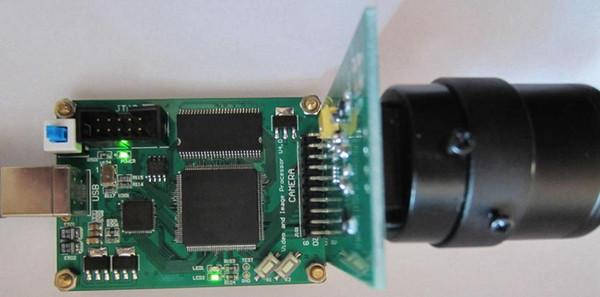 Scheda di sviluppo FPGA, scheda di acquisizione video USB da 5 milioni di pixel, fotocamera MT9P001, scheda di sviluppo EP4CE6