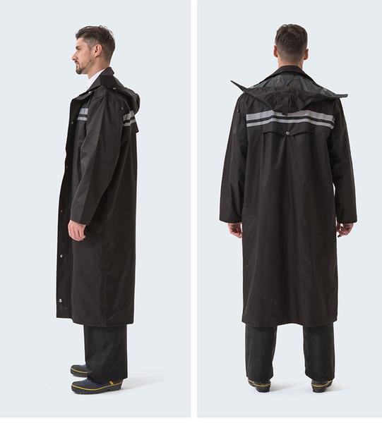 Длинный Плащ Женщины Мужчины Водонепроницаемый Путешествия Портативный Плащ Секция Прилив Водонепроницаемый Плащ Пальто С Капюшоном Куртка chubasquero # 219895