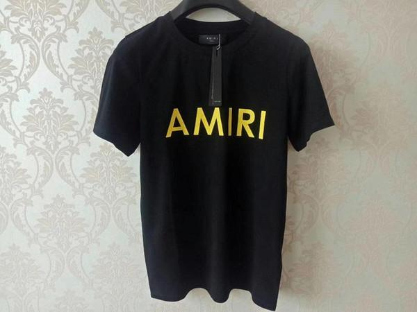 2019 yeni moda Marka Tasarımcısı Erkek T Shirt Hip Hop Giyim Casual Tee Gömlek Kadınlar Mektupları Baskılı Kutu Logo Tshirt