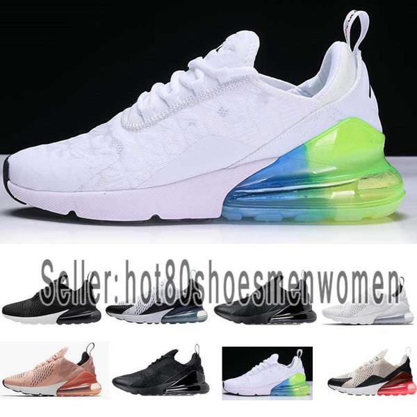 Trainer Airmax Men Großhandel Designer Schwarz Athletic Walking Shoes Herren 2019 Turnschuhe Sport 270 Regenbogen Nike Women 27 Yfyvb7g6
