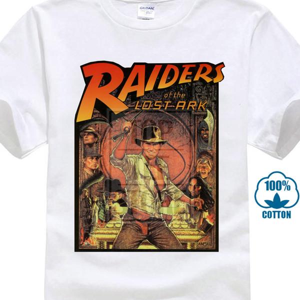 Sconto all'ingrosso di The Lost Ark T Shirt Indiana Jones 80 S Cult Movie Film Compleanno Cool Nuovo arrivo Moda giovanile