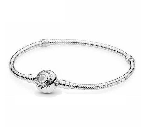 Original 925 pulsera de plata esterlina pan princesa jazmín Aladdin con corchete de la estrella de la serpiente del brazalete de la joyería del encanto del grano del ajuste