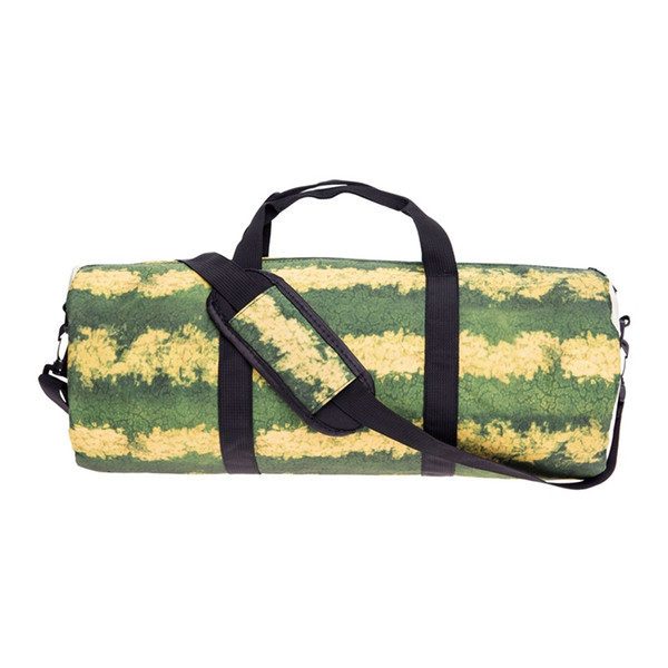 Sporttraining Sporttasche Schulter Handtasche Wassermelone Outdoor Travel Fitness Frauen Männer Taschen Weibliche Yoga Seesack # 614627
