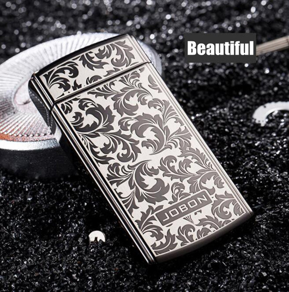 Nice Colorful Zinc Alloy USB Charging Lighter Innovative Design Cyclic Charging Shake Ignition Gravity Induction For Cigarette Smoking Pipe
