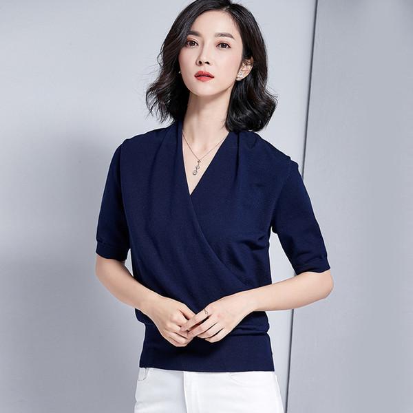 2018 Frauen Shirt Top Cotton Garment G850