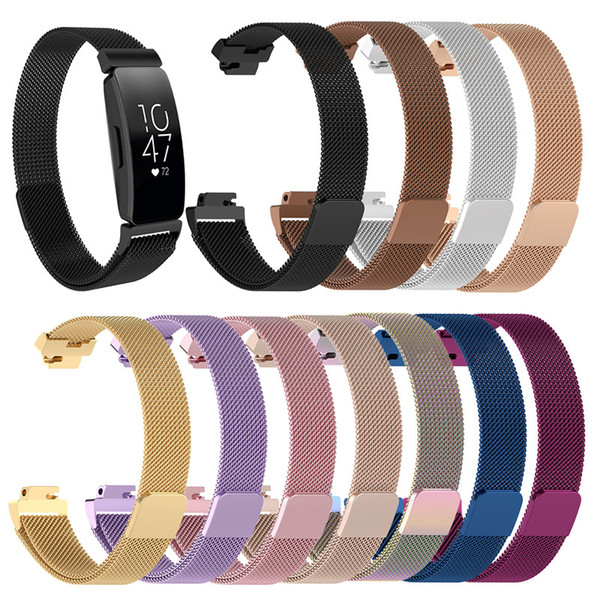 Strap for fitbit in pire hr replacement milane e loop magnetic tainle teel band fitne tracker acce orie bracelet