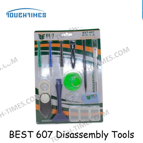 Kit de réparation d'ouverture de téléphone mobile Kit écran de levier de pression en métal pour téléphone intelligent Démonter les outils pour iPhone