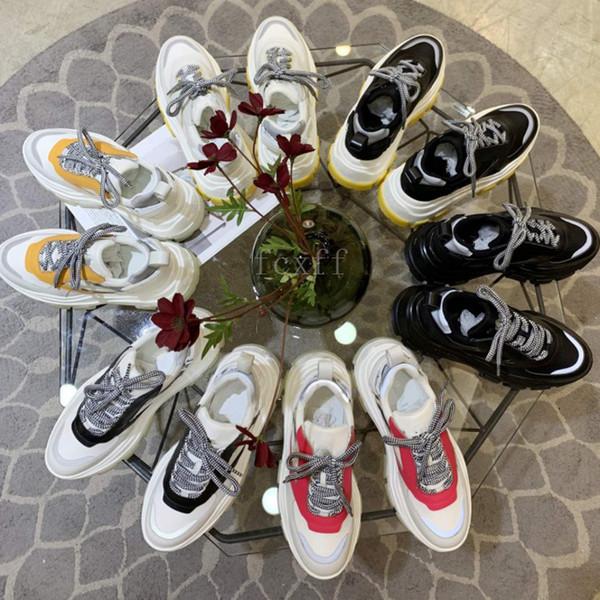 Italian brand with box women womens Triple-S luxury Genuine leather shoes Elevator shoes Casual Shoes reflective designer Eu35-Eu40
