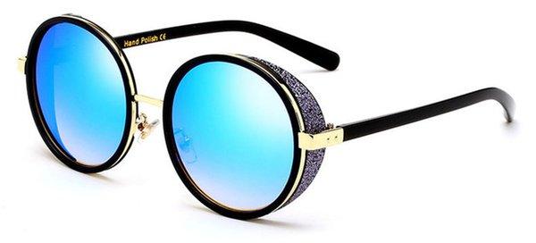 Colore lenti: blu nero