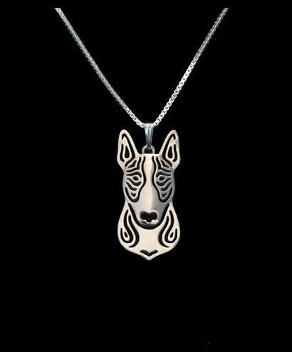 Продам Boho Chic Alloy Бультерьер ожерелье мода мультфильм собака кулон Серебро золото два цвета с покрытием