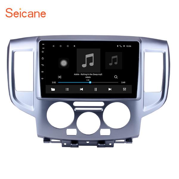 Venta caliente de 9 pulgadas de Android 7.1 Radio de coche para 2009-2016 NISSAN NV200 con Bluetooth Navegación GPS WIFI compatible DVR SWC Enlace de espejo