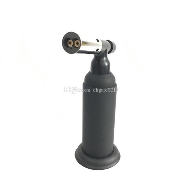 Professional Butane Scorch torch dual butane Gas cigar lighter heavy Giant Chef Blowtorch Refillable Kitchen lighter BBQ DIY tool dhl free