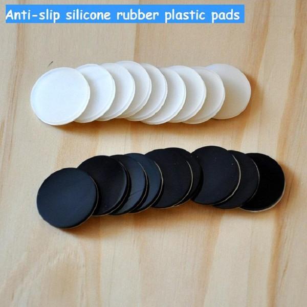 30 milímetros antiderrapante de silicone à prova de traço móveis pés de borracha plástico almofadas tapete antiderrapante 3M auto-adesivo para a prova de choque móveis