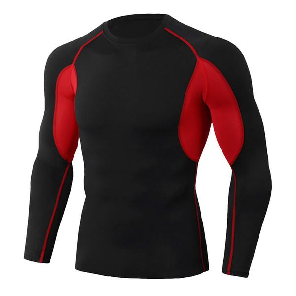 Erkek spor tişört Man Egzersiz Uzun Kollu Spor Spor Koşu Yoga atletik Gömlek Bluz futbol antrenman takım elbise # 11