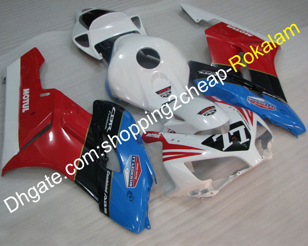 Motorcycle Kit For Honda 2004 2005 CBR1000RR CBR 1000RR CBR1000 04 05 Red White Blue Black Bodywork Fairing Of Motorbike (Injection molding)