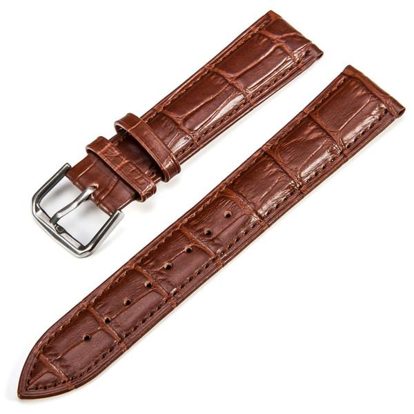 2019 Table Calfskin bracelet en cuir motif de bambou universel imperméable et sweatproof deux couches de montre en cuir gros usine