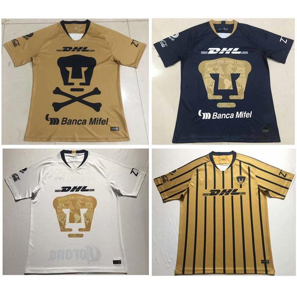 Thai 18 19 MÉXICO NUEVA UNAM Camisetas de fútbol de Club Universidad Nacional 2018 Camiseta Puma de fútbol tercera puma 2019 Camiseta de edición especial HACHITA