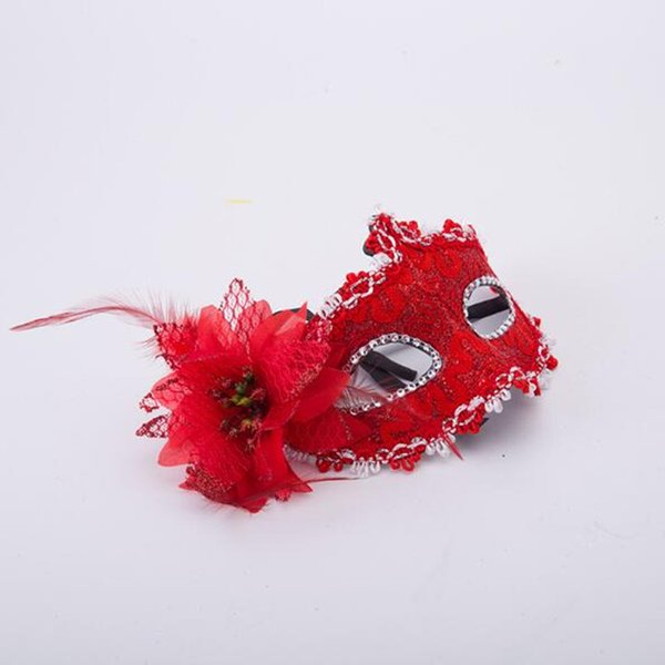 Children Eye Masks for Bithday Christmas Masquerade Ball Party Fancy Dress Costume Girls Gifts Party Mask Mixed Color