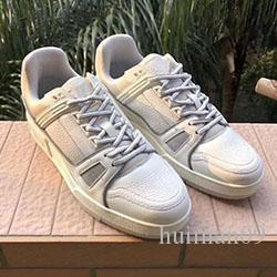 2020 hot new designer shoes RUN designer ladies men's sports and leisure leather mesh casual shoes 38-44 B0917