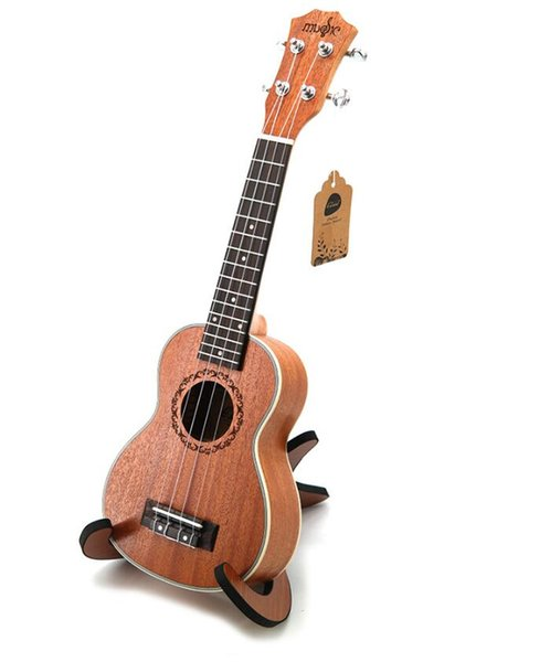 Best Sellers 21-inch ukulele four-string small guitar Mahogany five-line edge beginner entry instrument free shipping