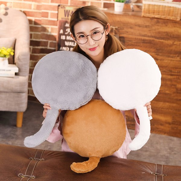 Cute Cat Butt Plush Toys Pillow Soft Cartoon Animal Bum Stuffed Doll Sofa Chair Chusion Kids Birthday Gifts Girls Toy