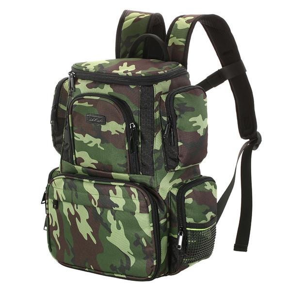 Lixada Fishing Reel lure Bag Backpack Fishing Lures Bait Box Storage Bag with 4 Tackle Box for Pesca #159225