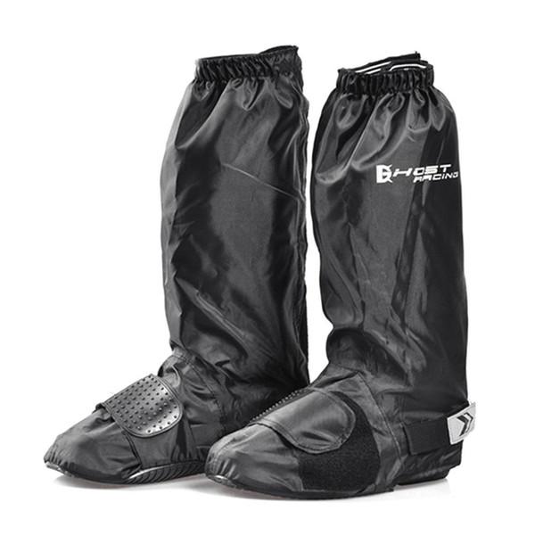 GHOST RACING Impermeable Zapato Impermeable Cubiertas Motocross Motocicleta Equipo Bicicleta Reutilizable Antideslizante Lluvia Raquetas de nieve