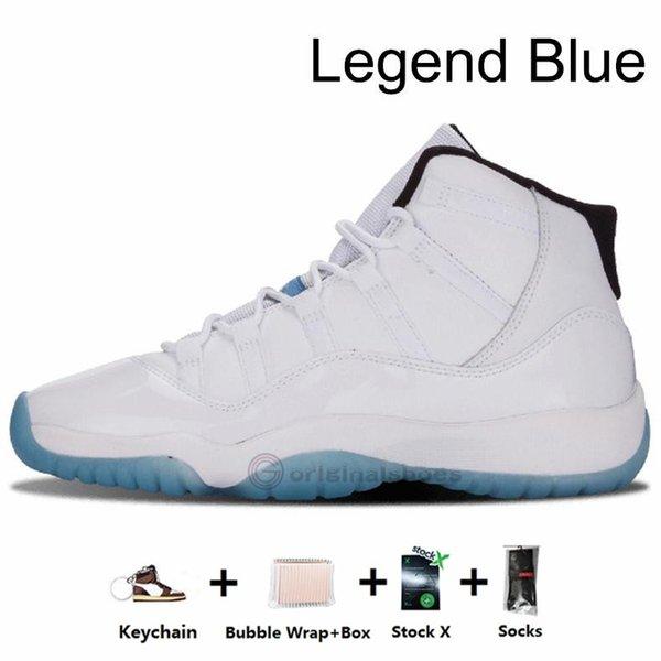11s-Legend Blue