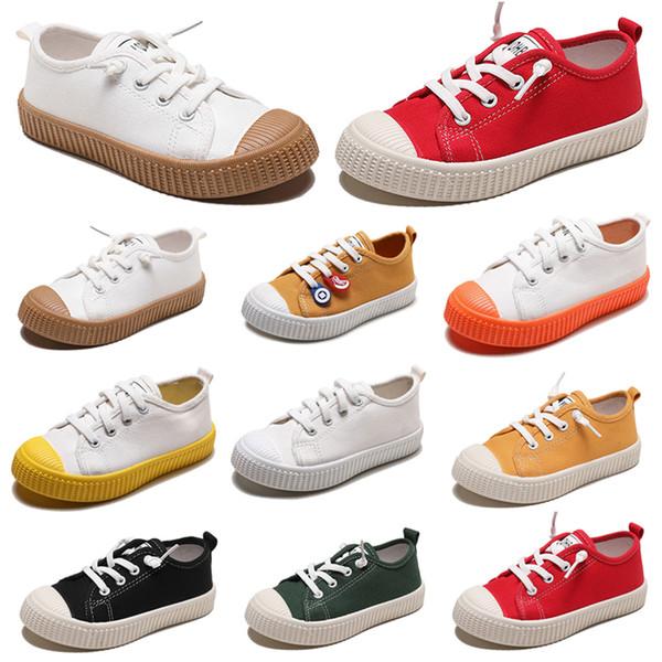 Sigara Marka Tembel Çocuk Ayakkabı kanvas ayakkabılar erkek kız bebek Çocuk Slip moda rahat ayakkabılar 20-31 madde 26 ücretsiz nakliye sneakers
