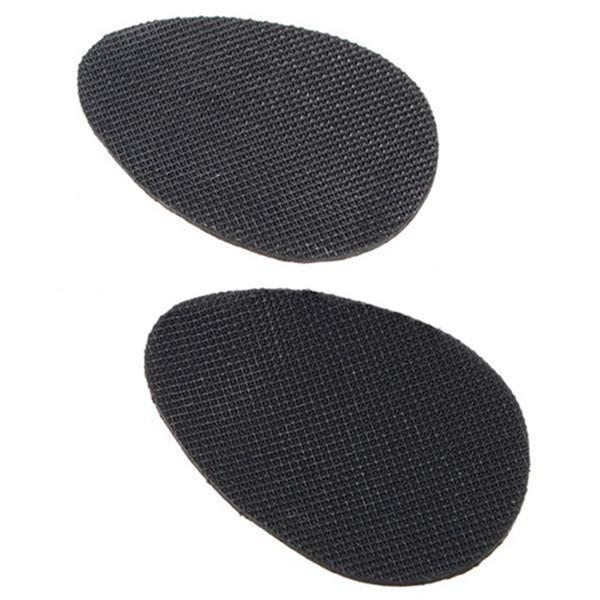 1 Pairs Anti-slip Shoes Heel Sole Grip Protector Pads Non-slip Cushion Adhesive black