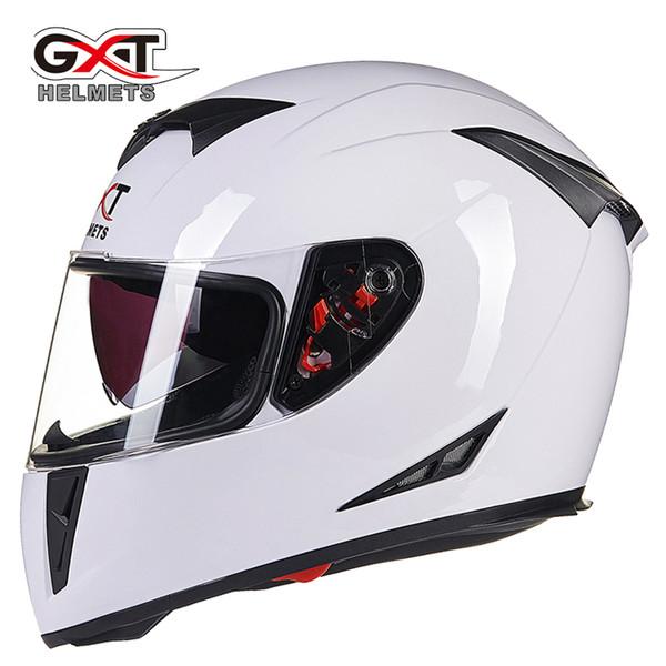 genuine cool gxt full face motorcycle helmet dual lens visors women summer winter motorbike moto scooter helmets men