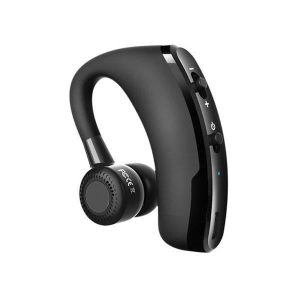 V9 Wireless Bluetooth Heaphones Business Car Earphone Drive Earbuds Headset with Mic Stereo CSR V4.1 Voice Control with Packing