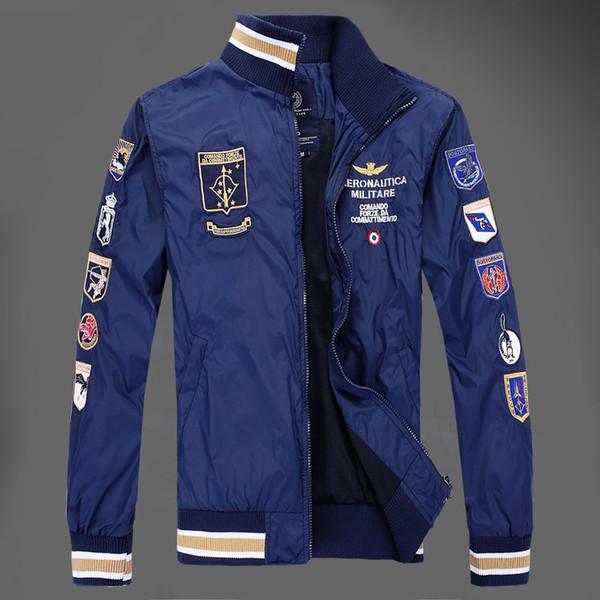 Lässig Marke Großhandel Jaqueta Stickerei Masculina Zpsfs88 Military Allgleiches Jacke Jacken Herren Von Sommer Frühling Aeronautica Mantel lFcK1TJ