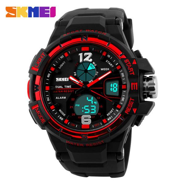 2019 skmei g style fashion digital-watch mens sports watches army military wristwatch erkek saat shock resist clock quartz watch