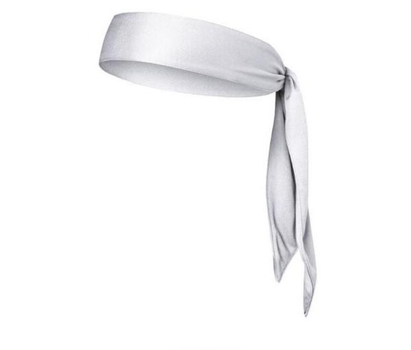 Moda Unisex Esportes Ao Ar Livre Pure Sweatband Headscarf Aptidão Em Execução Longa Faixa de Cabelo Esporte Yoga Ginásio Cabeça de Banda