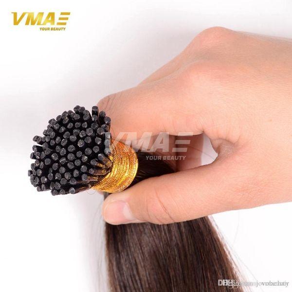 VMAE Más popular Probonded Natural 613 rubio brasileño queratina recta 1.0 g / hebras 100 g Me inclino Stick 100% Extensiones de cabello humano