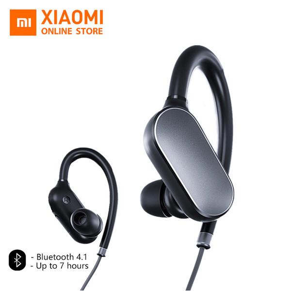 Original Xiaomi Mi Sports Bluetooth Headset Xiaomi Wireless Bluetooth 4.1 With Microphone Ipx4 Waterproof Sweatproof 5 Earbud T190619