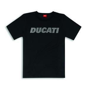 Ducati Maglietta Camiseta Carbonio Nero Logo Shirt Novo Original