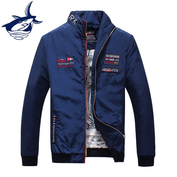 2018 Brand Casual Men Jackets And Coat Thin Military Tace Shark Jacket Outerwear Coat High Quality Chaquetas Jackets For Men T4190617
